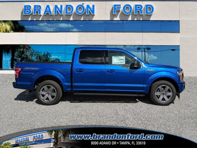 2018 F-150 SuperCrew Cab 4x2,  Pickup #J8244 - photo 1