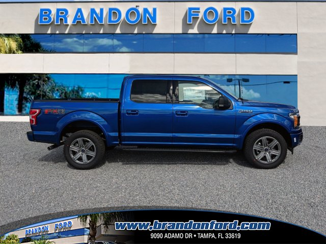2018 F-150 SuperCrew Cab 4x4,  Pickup #J8288 - photo 1