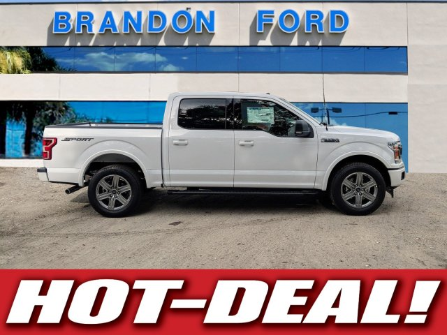 2018 F-150 SuperCrew Cab 4x2,  Pickup #J8411 - photo 1