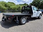 2019 F-350 Regular Cab DRW 4x2,  Bedrock Flatbed Body #K0076 - photo 1