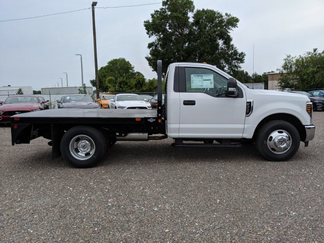 2019 F-350 Regular Cab DRW 4x2,  Bedrock Diamond Series Flatbed Body #K0974 - photo 20
