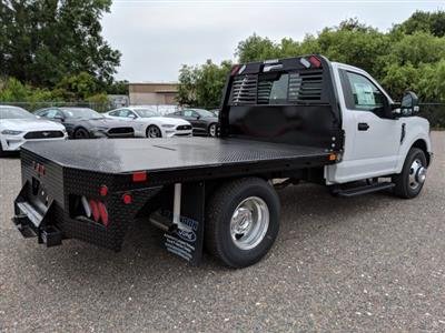 2019 F-350 Regular Cab DRW 4x2,  Bedrock Diamond Series Flatbed Body #K0974 - photo 2