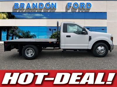 2019 F-350 Regular Cab DRW 4x2,  Bedrock Diamond Series Flatbed Body #K0974 - photo 1