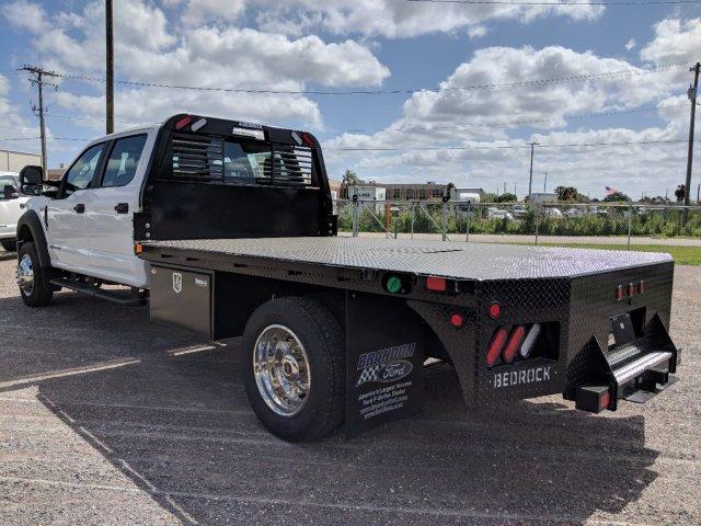 2019 F-550 Crew Cab DRW 4x4,  Bedrock Diamond Series Flatbed Body #K1493 - photo 4
