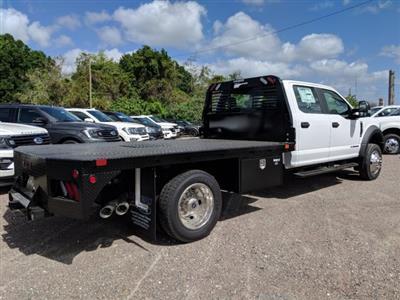 2019 F-550 Crew Cab DRW 4x4,  Bedrock Diamond Series Flatbed Body #K1493 - photo 2