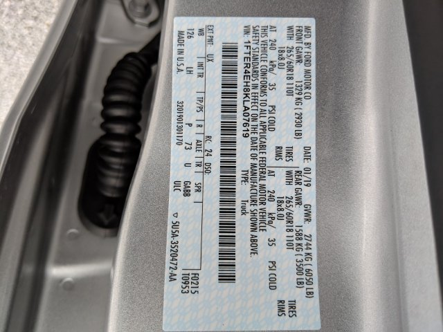2019 Ford Ranger SuperCrew Cab 4x2, Pickup #M2258A - photo 30