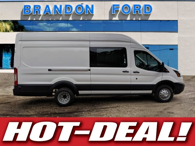 2019 Transit 350 HD High Roof DRW 4x2, Empty Cargo Van #K3863 - photo 1