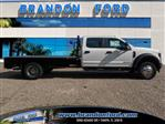 2019 F-550 Crew Cab DRW 4x4,  Bedrock Flatbed Body #K4940 - photo 1