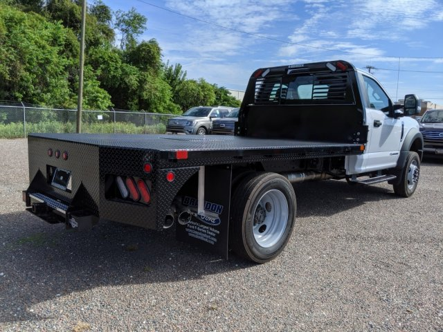 2019 F-450 Regular Cab DRW 4x4, Bedrock Flatbed Body #K6300 - photo 1
