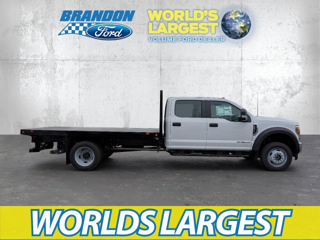 2019 Ford F-450 Crew Cab DRW 4x4, Platform Body #K7653 - photo 1