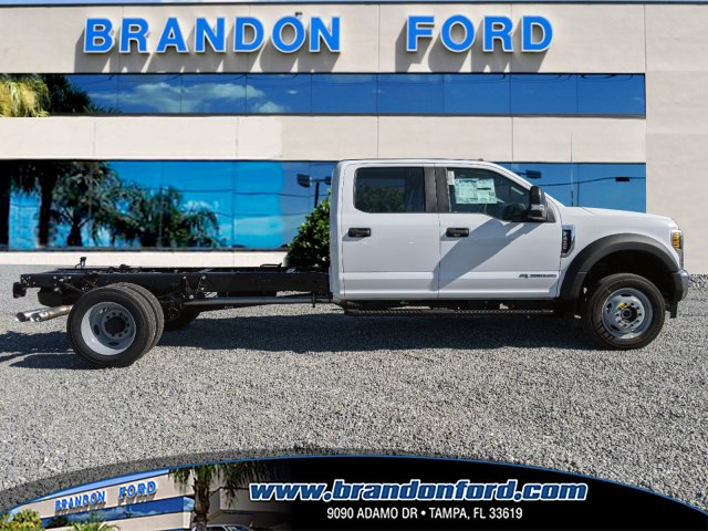 2019 Ford F-450 Crew Cab DRW 4x4, Bedrock Platform Body #K7679 - photo 1