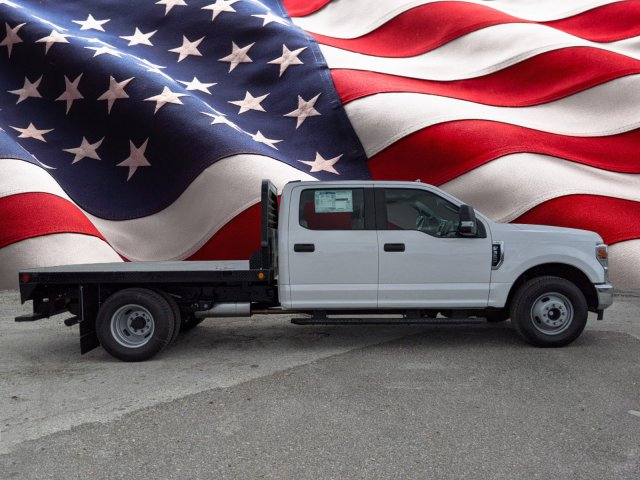 2020 F-350 Crew Cab DRW 4x2, CM Truck Beds Flatbed Body #L2582 - photo 1