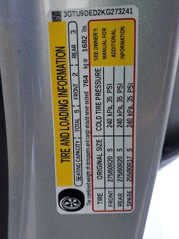 2019 GMC Sierra 1500 Crew Cab 4x4, Pickup #L4190A - photo 35