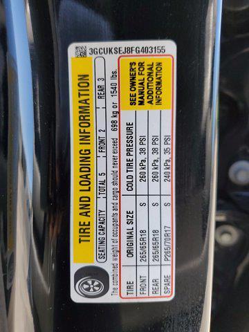 2015 Chevrolet Silverado 1500 Crew Cab 4x4, Pickup #L4284B - photo 36