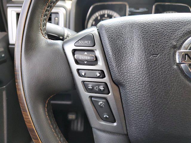 2017 Nissan Titan Crew Cab 4x4, Pickup #L6037A - photo 23