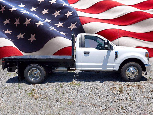 2020 Ford F-350 Regular Cab DRW 4x2, Flatbed Body #L6495 - photo 1