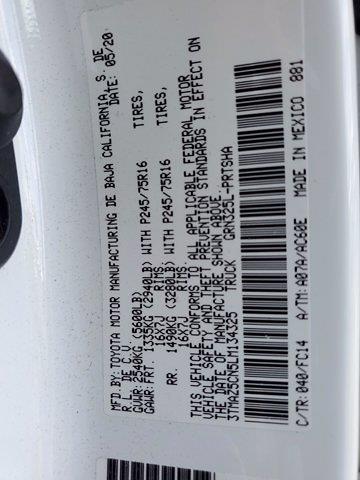 2020 Tacoma Double Cab 4x2,  Pickup #M1860A - photo 31