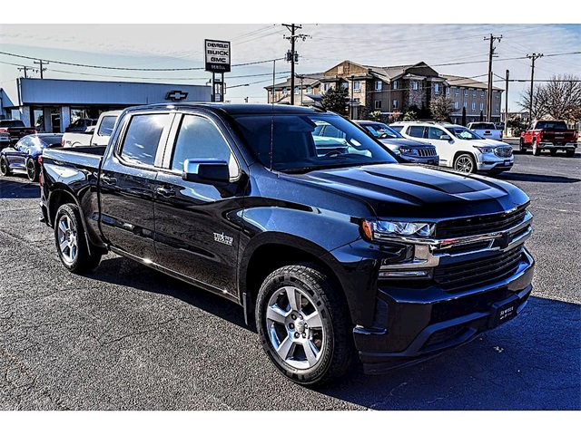 2019 Chevrolet Silverado 1500 Crew Cab 4x2, Pickup #A03769AA - photo 1