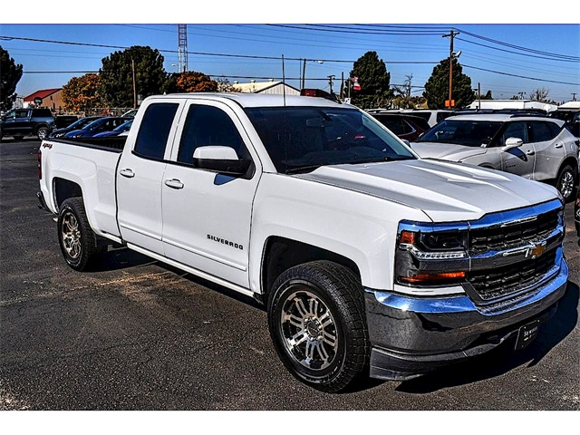 2018 Chevrolet Silverado 1500 Double Cab 4x4, Pickup #A05988A - photo 1