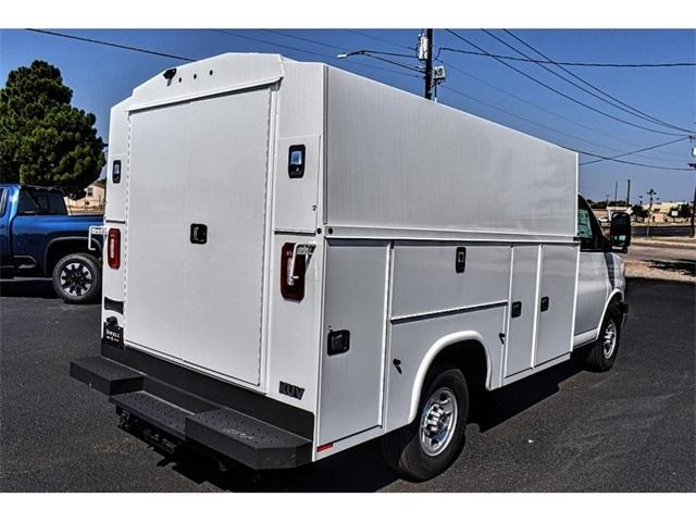 2019 Chevrolet Express 3500 4x2, Knapheide Service Utility Van #A08963 - photo 1