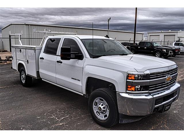 2018 Chevrolet Silverado 2500 Crew Cab 4x2, Royal Service Body #AF04275A - photo 1