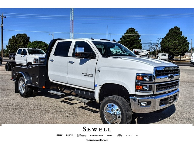 2019 Chevrolet Silverado 5500 Crew Cab DRW 4x4, CM Truck Beds Hauler Body #C19648 - photo 1