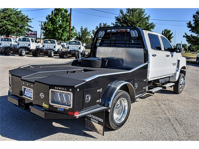 2019 Chevrolet Silverado 5500 Crew Cab DRW 4x4, CM Truck Beds Hauler Body #C19648 - photo 1