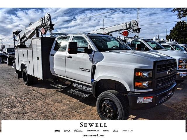 2019 Silverado 5500 Crew Cab DRW 4x4, Knapheide Mechanics Body #C19656 - photo 1