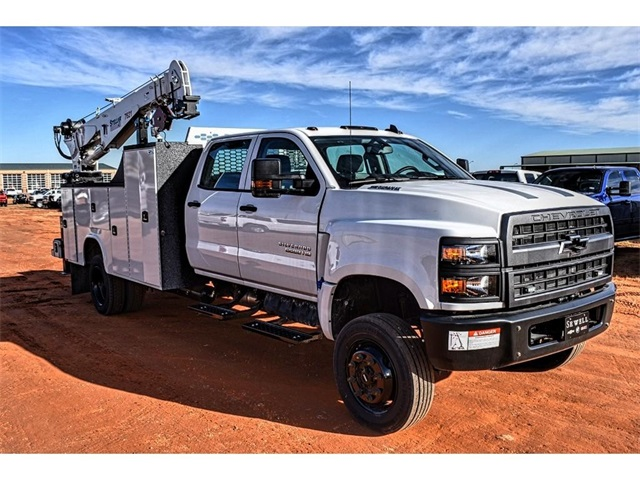 2019 Silverado 5500 Crew Cab DRW 4x4, Knapheide Mechanics Body #C19661 - photo 1