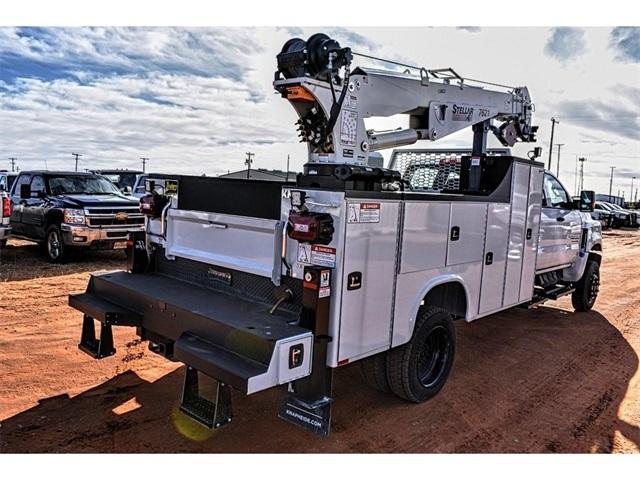2019 Chevrolet Silverado 5500 Crew Cab DRW 4x4, Knapheide Crane Body Mechanics Body #C19661 - photo 4
