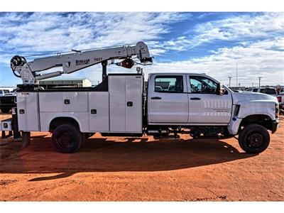 2019 Silverado 4500 Crew Cab DRW 4x4, Knapheide Crane Body Mechanics Body #C19661 - photo 3