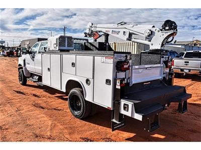2019 Silverado 4500 Crew Cab DRW 4x4, Knapheide Crane Body Mechanics Body #C19661 - photo 4