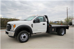 2017 F-550 Regular Cab DRW Platform Body #7258170T - photo 1