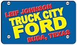 Leif Johnson Ford Truck City logo