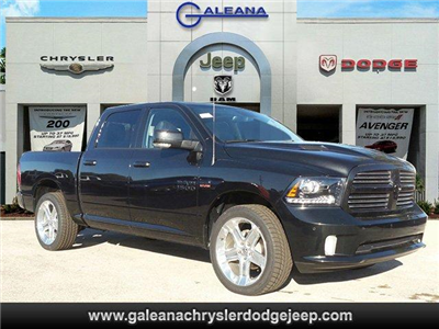 2017 Ram 1500 Crew Cab, Pickup #D71550 - photo 1