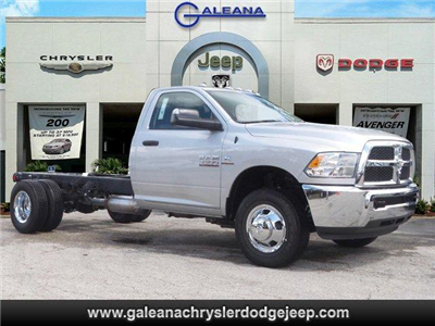 2017 Ram 3500 Regular Cab DRW 4x2,  Cab Chassis #D73545 - photo 1