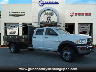 2018 Ram 4500 Crew Cab DRW 4x4, Contractor Body #D84502 - photo 1