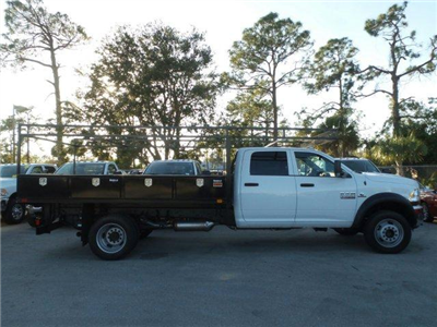 2018 Ram 4500 Crew Cab DRW 4x4, Contractor Body #D84502 - photo 4
