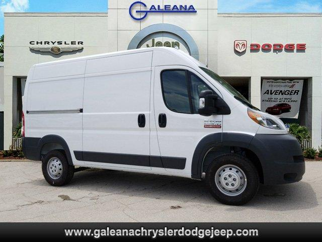 2018 ProMaster 2500 High Roof FWD,  Empty Cargo Van #DC8079 - photo 1