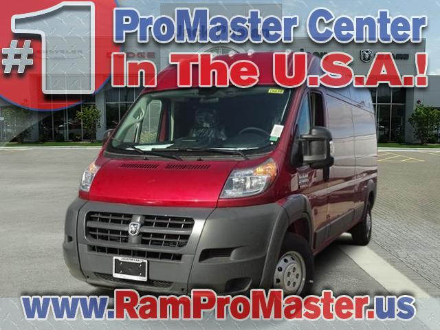 2018 ProMaster 2500 High Roof, Cargo Van #D6632 - photo 1