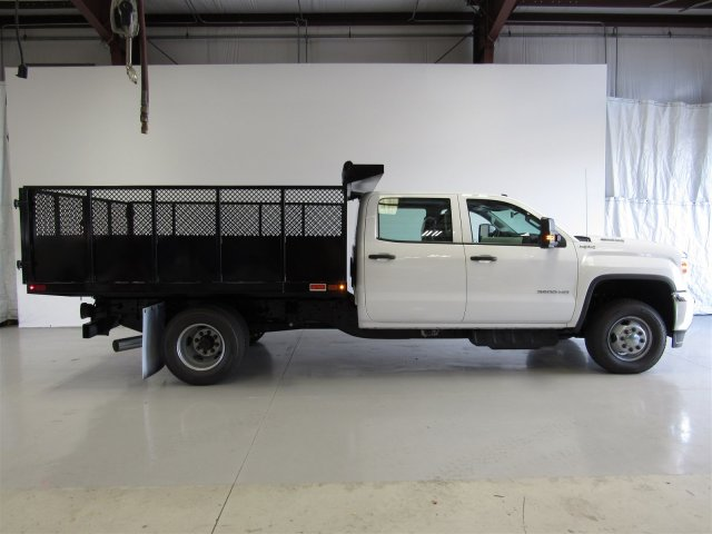 2017 Sierra 3500 Crew Cab DRW 4x4, Action Fabrication Landscape Dump #G03030 - photo 4