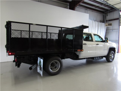 2017 Sierra 3500 Crew Cab DRW 4x4, Action Fabrication Landscape Dump #G03030 - photo 2