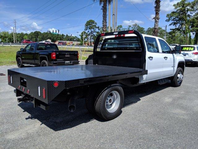 2019 Sierra 3500 Crew Cab DRW 4x4,  Reading Platform Body #G03558 - photo 1