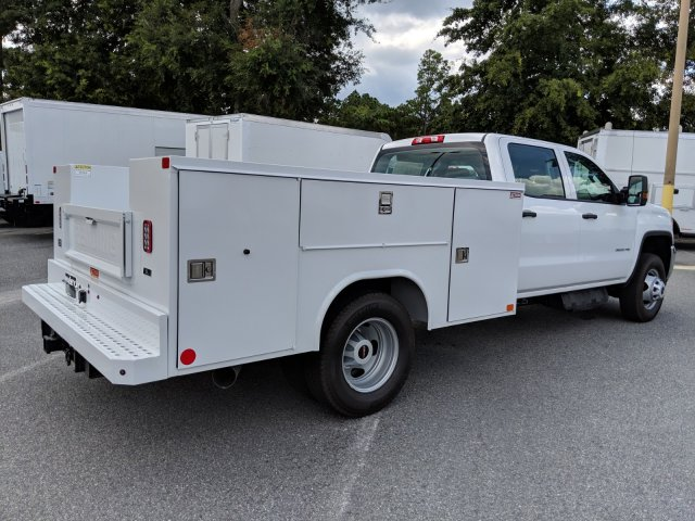 2019 Sierra 3500 Crew Cab DRW 4x4,  Reading Service Body #G03591 - photo 1
