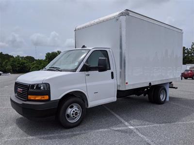 2020 GMC Savana 3500 RWD, J&B Truck Body Cutaway Van #G10070 - photo 8