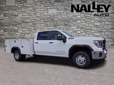 2020 GMC Sierra 3500 Crew Cab 4x2, Monroe MSS II Service Body #G10197 - photo 1