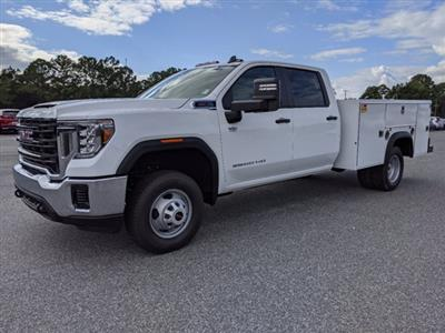 2020 GMC Sierra 3500 Crew Cab 4x2, Monroe MSS II Service Body #G10197 - photo 8