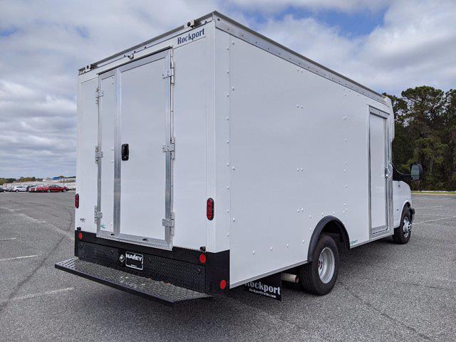 2021 GMC Savana 3500 4x2, Rockport Cargoport Cutaway Van #G10429 - photo 2