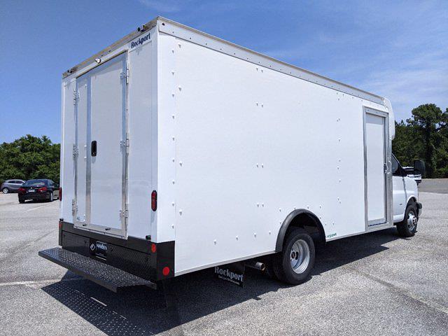 2021 GMC Savana 3500 4x2, Rockport Cargoport Cutaway Van #G10451 - photo 2