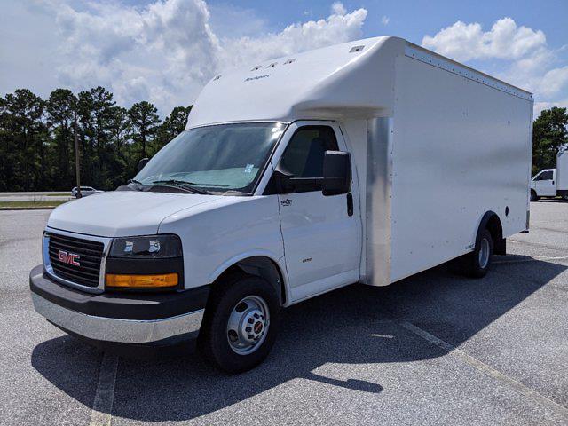 2021 GMC Savana 3500 4x2, Rockport Cargoport Cutaway Van #G10451 - photo 8